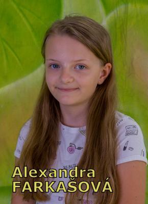 Alexandra FARKAŠOVÁ