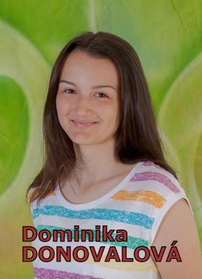 Dominika DONOVALOVÁ