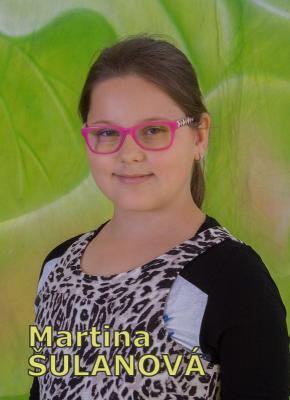 Martina ŠULANOVÁ