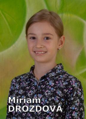 Miriam DROZDOVÁ